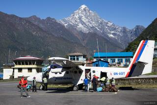 Himalaya,Khumbu,Lukla,Nepal, airport