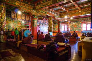 Himalaya,Khumbu,Nepal,Tengboche, monks, Buddhist, monastery