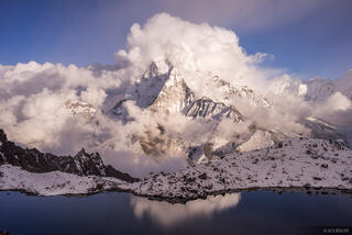 Ama Dablam Clouds