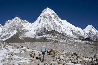 Himalaya,Khumbu,Nepal,Pumo Ri
