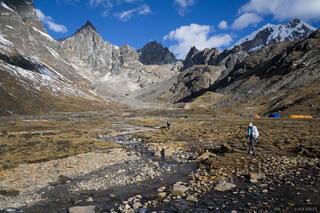 Cho La Pass,Dzonglha,Himalaya,Khumbu,Nepal, hiking