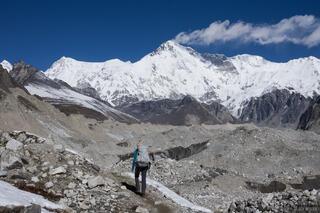 Himalaya,Khumbu,Nepal,Ngozumba Glacier, Cho Oyu, hiking