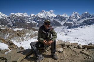 Himalaya,Khumbu,Mt. Everest,Nepal,Renjo La, Bismu