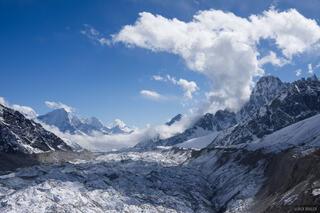 Himalaya,Khumbu,Nepal,Ngozumba Glacier