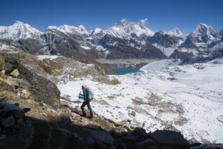 Himalaya,Khumbu,Mt. Everest,Nepal,Renjo La, hiking