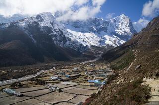 Himalaya,Khumbu,Nepal,Thame
