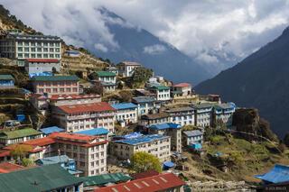 Himalaya,Khumbu,Namche Bazaar,Nepal