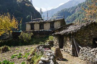 Himalaya,Khumbu,Nepal, Bengkar