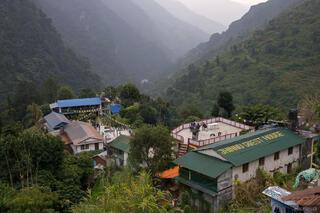 Annapurna Range,Himalaya,Jhinnu Danda,Nepal