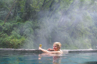Annapurna Range,Himalaya,Jhinu Danda,Nepal,hot springs