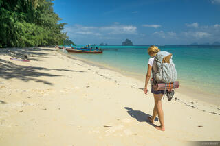 Ko Kradan, Thailand, Andaman Sea, beach, hiking