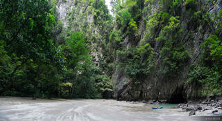 Ko Muk, Thailand, kayak, Andaman Sea, beach, Tham Morakat, Emerald Cave