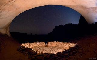 Canyonlands National Park,False Kiva,Utah