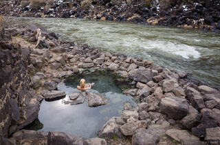 New Mexico,Rio Grande,Stagecoach Hot Springs,Taos,hot springs