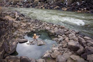 Hot Spring on Rio Grande