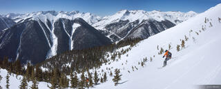 Colorado,Red Mountain Pass,San Juan Mountains, skiing