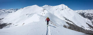 Colorado,Red Mountain Pass,San Juan Mountains, skiing, skinning, hiking