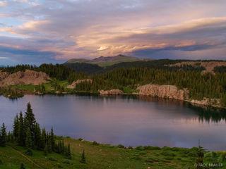 Blue Lake, Conejos Peak, South San Juans, Colorado