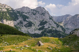 Dinaric Alps,Durmitor,Durmitor National Park,Europe,Montenegro, Medjed, katun