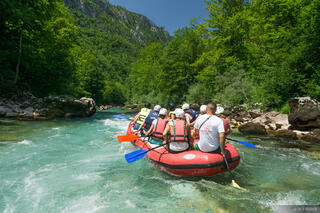 Tara River, Tara Bridge, Montenegro, rafting