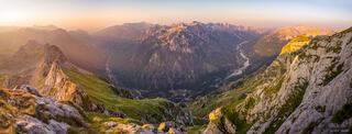 Albania,Bjeshkët e Namuna,Prokletije,Valbona, panorama, sunrise