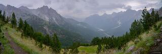 Rainy Valbona Pass