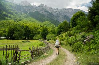 Valbona, Prokletije, Bjeshket e Nemuna, hiking