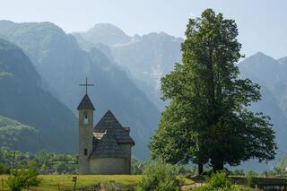 Church in Thethi