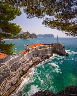 Montenegro,Petrovac, Adriatic Sea