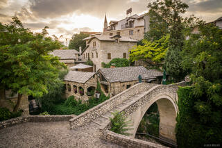 Mostar, Bosnia, Herzegovina, village