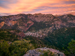Sunset Above Ouray