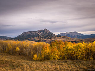 Crested Butte Autumn Evening