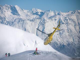 Alaska, Haines, helicopter, Takhinsha Mountains