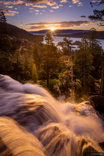 California, Eagle Falls, Lake Tahoe, sunrise