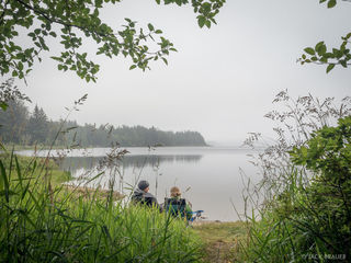 Ozette Lake Camp