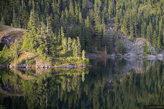 Alpine Lakes Wilderness, Spectacle Lake, Washington, Cascades