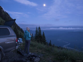 Sauk Mountain, Washington, truck