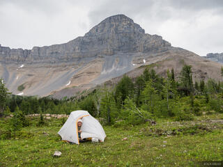 British Columbia, Canada, Canadian Rockies, Height of the Rockies, tent, BC