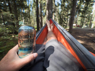Alberta, Banff National Park, Canada, Canadian Rockies, hammock