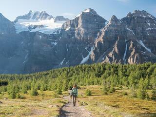 Larch Valley Hiker