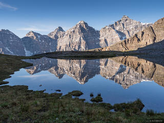 Larch Valley Reflection