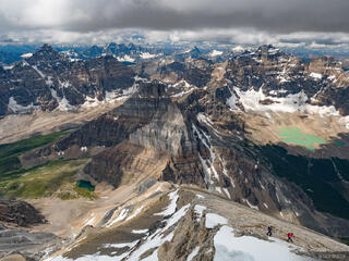 Alberta, Banff National Park, Canada, Canadian Rockies, Mount Temple, hiking