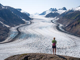 Alaska, Hyder, Salmon Glacier