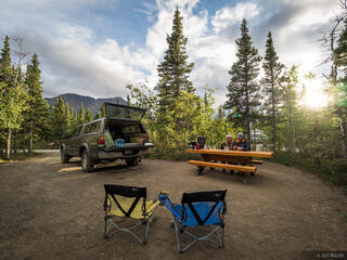 Canada, Kathleen Lake, Kluane National Park, Yukon