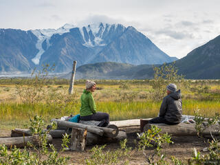Canada, Kluane National Park, Slims River, Yukon