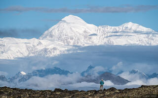 Alaska, Alaska Range, Denali, Denali State Park, Kesugi Ridge