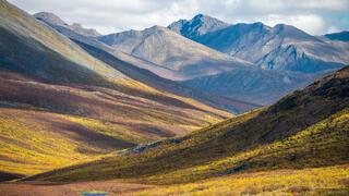 Canada, Tombstone Territorial Park, Yukon, North Klondike, Tombstone Range