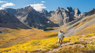 Canada, Mount Monolith, Tombstone Territorial Park, Yukon, hiking, Tombstone Range