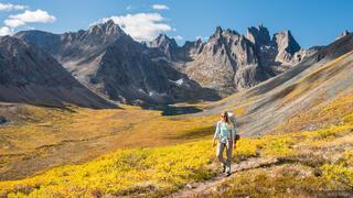 Canada, Mount Monolith, Tombstone Territorial Park, Yukon, hiking, Tombstone Range