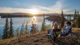 Canada, Twin Lakes, Yukon